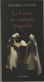 Le coeur des enfants léopards - Couverture - Format classique