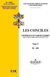 Les Conciles Generaux Et Particuliers - Couverture - Format classique
