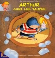 Arthur Chez Les Taupes - Couverture - Format classique