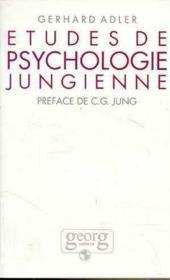 Etudes De Psychologie Jungienne - Couverture - Format classique