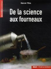 De la science aux fourneaux - Intérieur - Format classique
