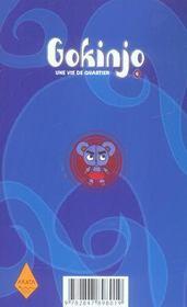 Gokinjo, une vie de quartier t.6 - 4ème de couverture - Format classique