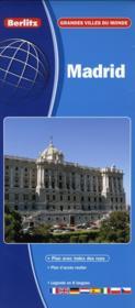 Madrid - carte routiere et touristique - Couverture - Format classique