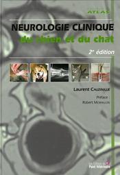 Neurologie clinique du chien et du chat (2e édition) - Intérieur - Format classique