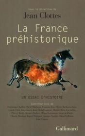 La France préhistorique ; un essai d'histoire - Couverture - Format classique