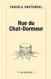 Rue du Chat-Dormeur - Couverture - Format classique