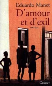 D'amour et d'exil - Couverture - Format classique