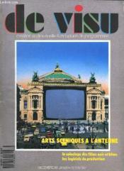 De Visu N° 8 Decembre 1986 - Janvier 1987. Sommaire: Arts Sceniques A L Antenne, Le Coloriage Des Films En Noir Et Blanc, Les Logiciels De Production... - Couverture - Format classique