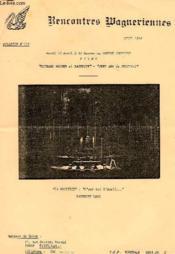 Rencontres Wagneriennes, Bulletin N° 110, Avril 1984 - Couverture - Format classique