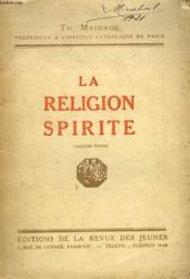 La Religion Spirite - Couverture - Format classique