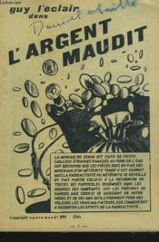 Guy L'Eclair Dans L'Argent Maudit. - Couverture - Format classique