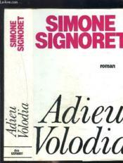 Adieu Volodia - Couverture - Format classique