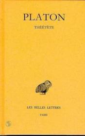 Theetete oeuvres t8 l2 - Couverture - Format classique