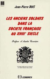 Anciens soldats de la societe francaise - Couverture - Format classique