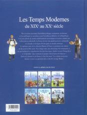 L'histoire de France t.7 ; les temps modernes - 4ème de couverture - Format classique