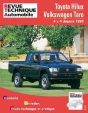 Rta 575.1 Toyota Hilux - Vw Taro (4x4 Diesel) 89-95 - Couverture - Format classique