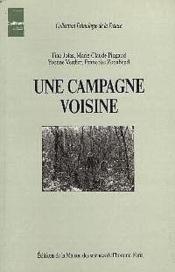 Une Campagne Voisine - Couverture - Format classique