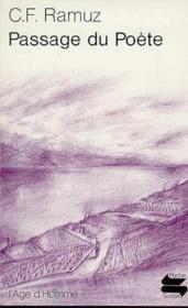 Passage Du Poete - Couverture - Format classique