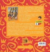 Petite anthologie de la reglisse - 4ème de couverture - Format classique