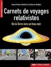 Carnets de voyages relativistes - Couverture - Format classique