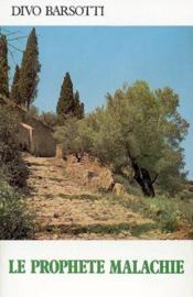Le Prophete Malachie - Couverture - Format classique
