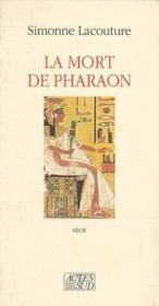 La mort de pharaon - Couverture - Format classique