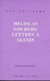 Lettres A Alexis - Couverture - Format classique