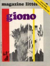 Giono (magazine littérature n°75, avril 1973) - Couverture - Format classique