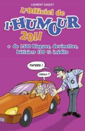 L'officiel de l'humour (édition 2011) - Couverture - Format classique