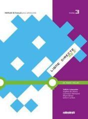 LIGNE DIRECTE T.3 ; méthode de français ; niveau A2 ; livre de l'élève - Couverture - Format classique