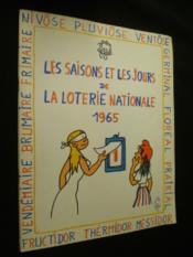 Les saisons et les jours de la loterie nationale 1965 - Couverture - Format classique