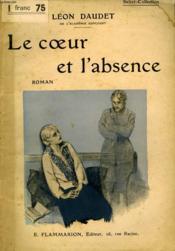 Le Coeur Et L'Absence. Collection : Select Collection N° 179 - Couverture - Format classique