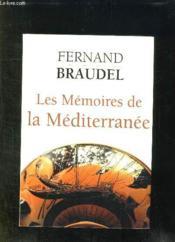 Les mémoires de la Méditerranée - Couverture - Format classique