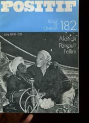 Positif N°182 - Aldrich, Perrault, Fellini - Couverture - Format classique