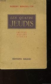 Les Quatre Jeudis - Couverture - Format classique