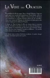La voie des oracles T.3 ; Aylus - 4ème de couverture - Format classique