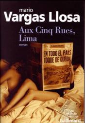 Aux Cinq Rues, Lima - Couverture - Format classique