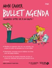 MON CAHIER ; bullet agenda - Couverture - Format classique