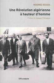 Une révolution algérienne à hauteur d'homme - Couverture - Format classique
