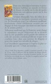 Les annales du Disque-monde T.1 ; la huitième couleur - 4ème de couverture - Format classique