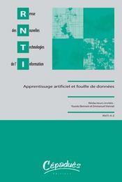 Apprentissage artificiel et fouille de données - Intérieur - Format classique