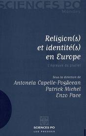 Religion(s) et identité(s) en Europe ; l'épreuve du pluriel - Intérieur - Format classique