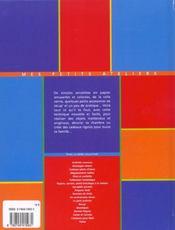 Collage De Serviettes - 4ème de couverture - Format classique