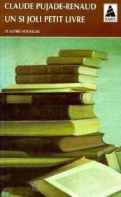 Un si joli petit livre et autres nouvelles - Couverture - Format classique