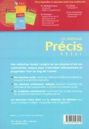Nouveau précis ; exercices maths mp - 4ème de couverture - Format classique