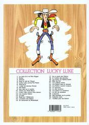 Lucky Luke T.6 ; hors-la-loi - 4ème de couverture - Format classique