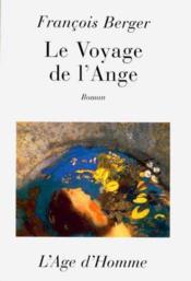 Le Voyage De L'Ange - Couverture - Format classique