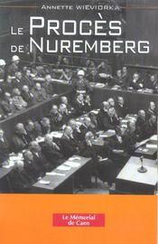 Le proces de nuremberg - Intérieur - Format classique