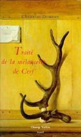 Traite De La Melancolie De Cerf - Couverture - Format classique