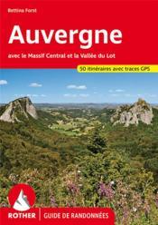 Auvergne, massif central - Couverture - Format classique